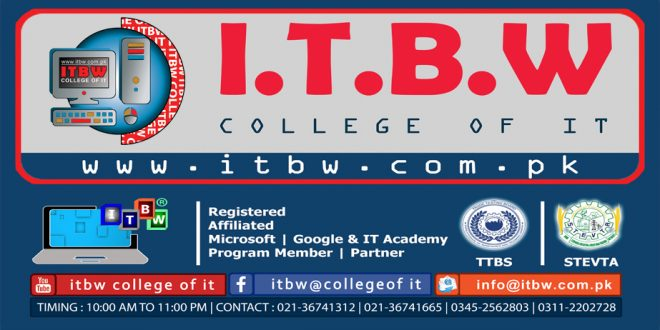 PROJECTS OF ITBW COLLEGE OF IT